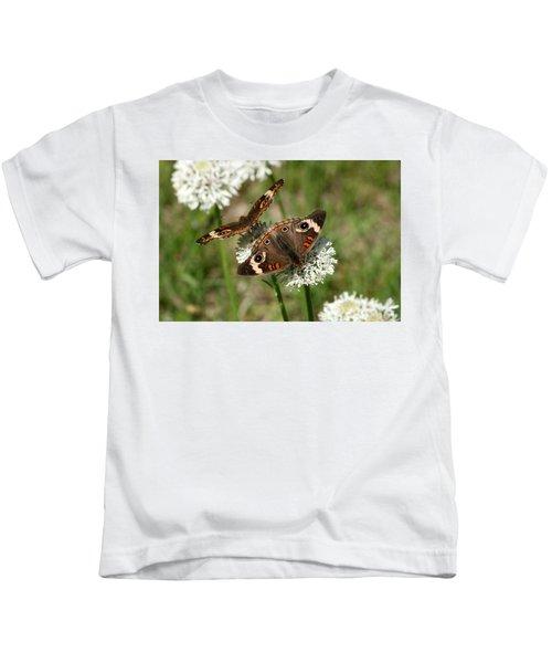 Back To Back Butterflies Kids T-Shirt