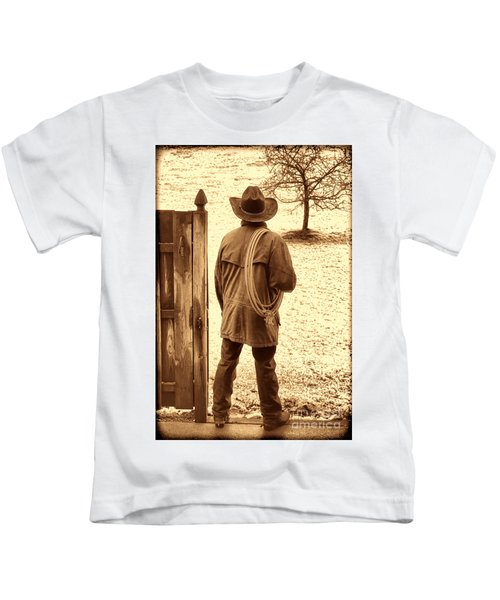 Back To Work Kids T-Shirt