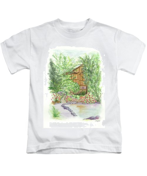 Backside Of Shakespeare Kids T-Shirt