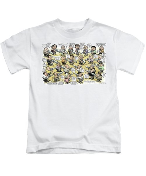 Bad Guys Watch Out Kids T-Shirt