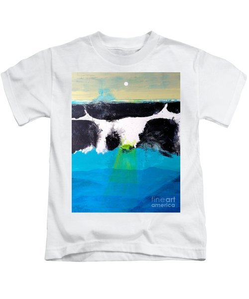 Bad Moon Rising Kids T-Shirt