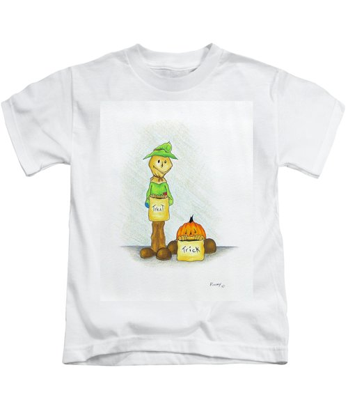 Baggs And Boo Treat Or Trick Kids T-Shirt