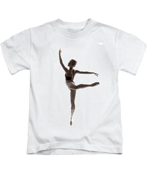 Ballerina Grace Kids T-Shirt