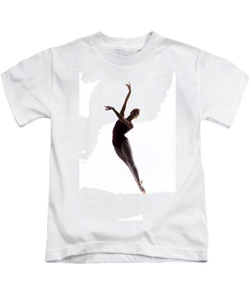Ballerina Jump Kids T-Shirt