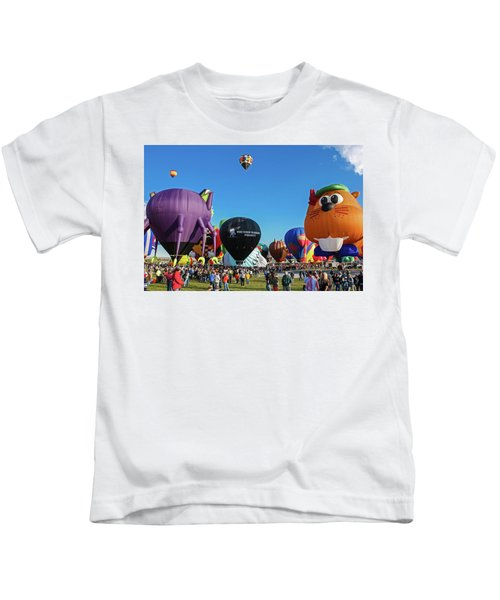 Balloon Fiesta Albuquerque I Kids T-Shirt