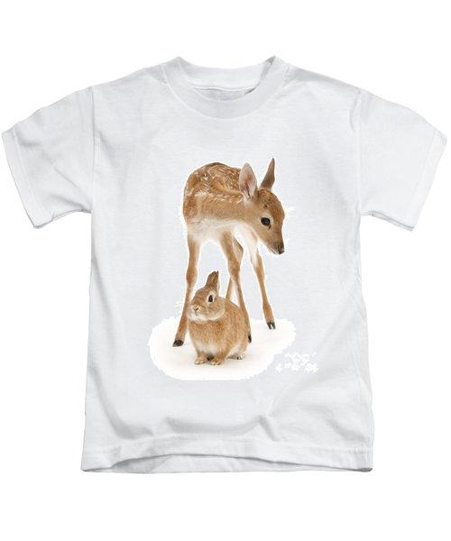 Bambi And Thumper Kids T-Shirt
