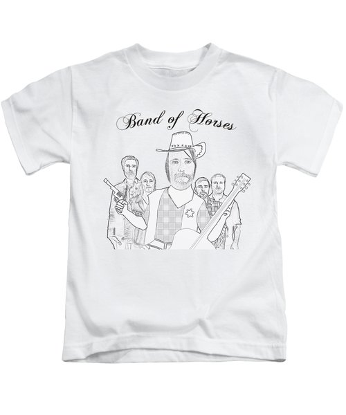 Band Of Horses Kids T-Shirt