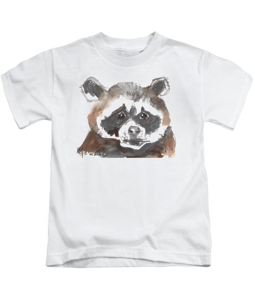 Bandit Raccoon Kids T-Shirt