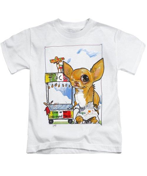 Bandito's Tacos Kids T-Shirt