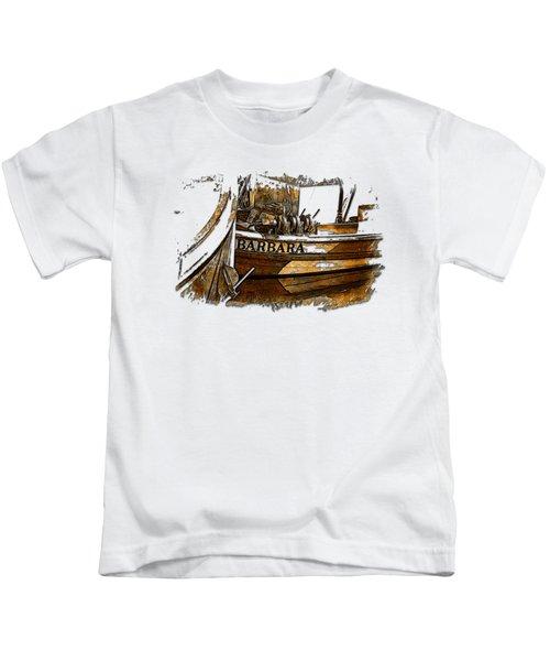 Barbara Earthy 3 Dimensional Kids T-Shirt