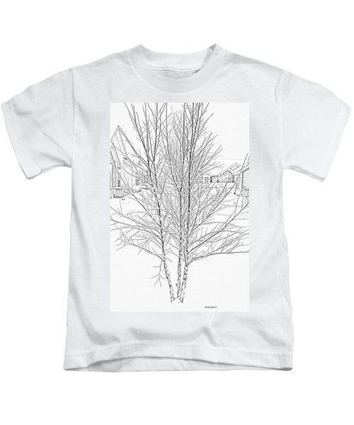 Bare Naked Tree Kids T-Shirt