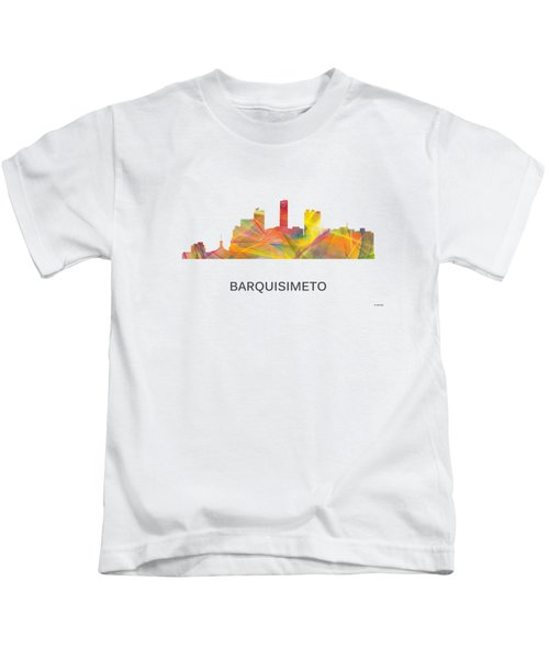 Barquisimeto Venezuela Skyline Kids T-Shirt