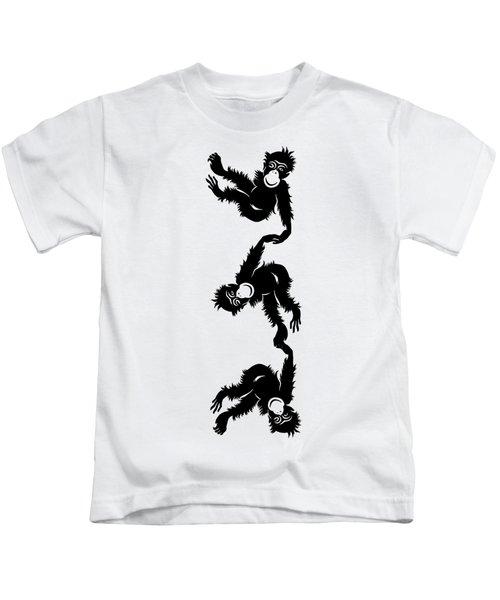 Barrel Full Of Monkeys T-shirt Kids T-Shirt