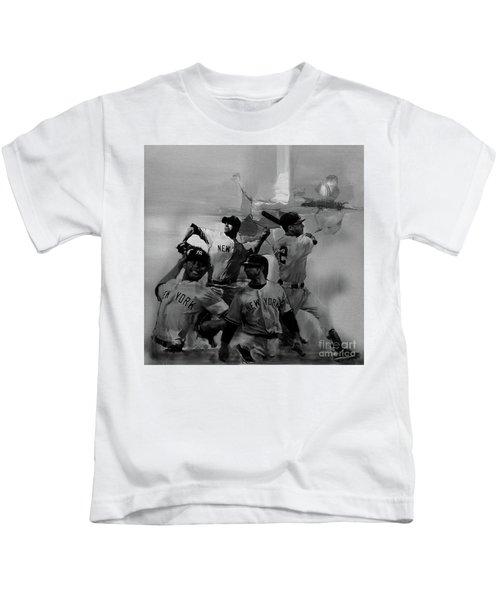 Base Ball Players Kids T-Shirt