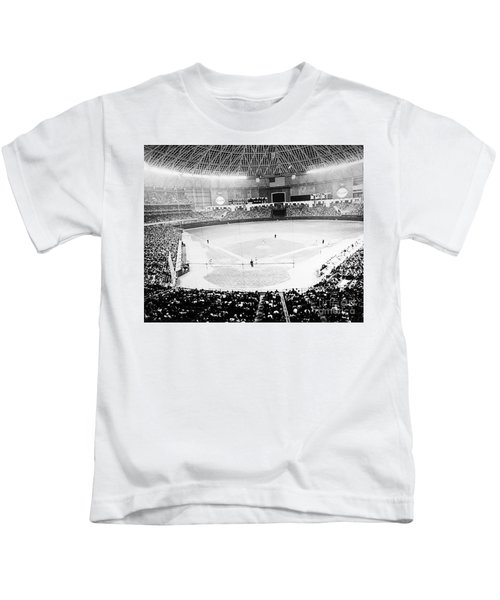 Baseball: Astrodome, 1965 Kids T-Shirt