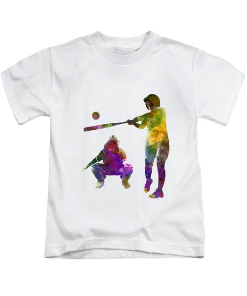 Baseball Players 02 Kids T-Shirt
