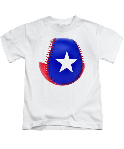 Baseball Star Kids T-Shirt