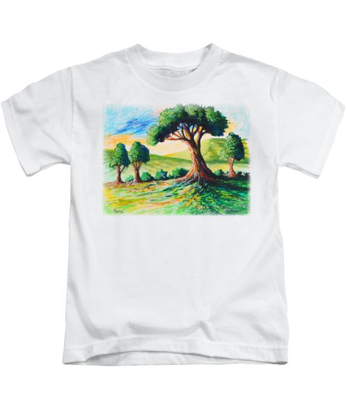 Basking In The Sun Kids T-Shirt