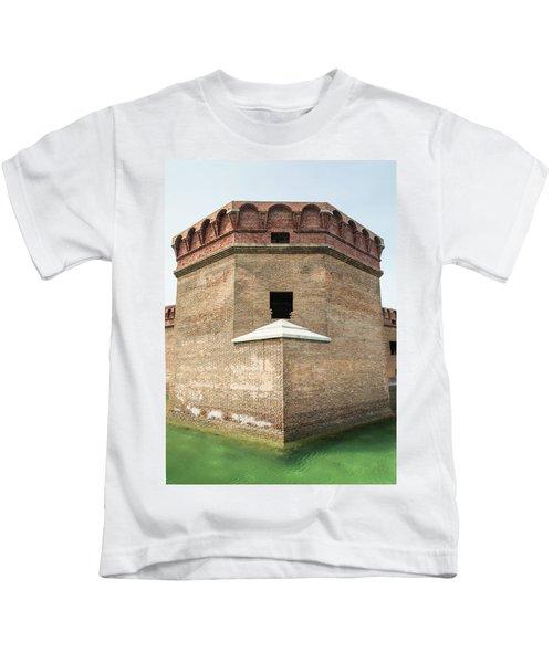 Bastion At Ft Jefferson Kids T-Shirt