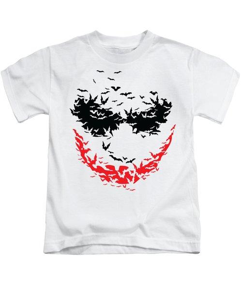 Bat Face Kids T-Shirt
