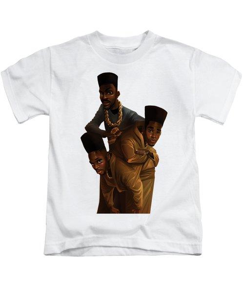 Bdk White Bg Kids T-Shirt