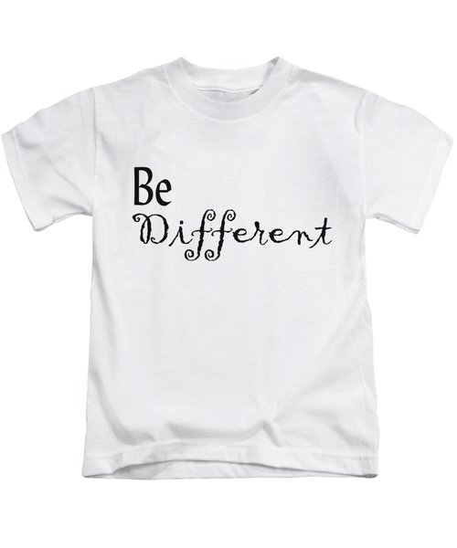 Be Different Kids T-Shirt