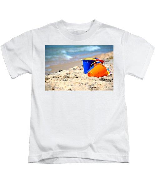 Beach Buckets Kids T-Shirt