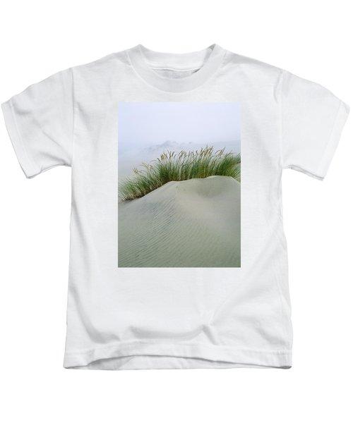 Beach Grass And Dunes Kids T-Shirt