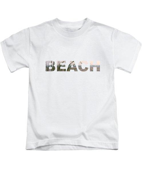 Beach Kids T-Shirt by Laura Kinker