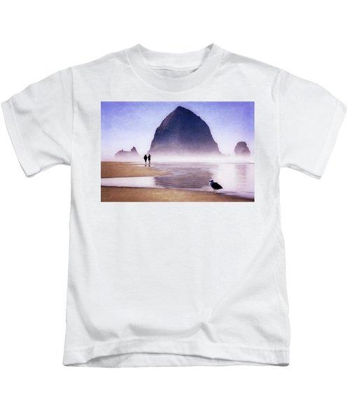 Beach Walk Kids T-Shirt