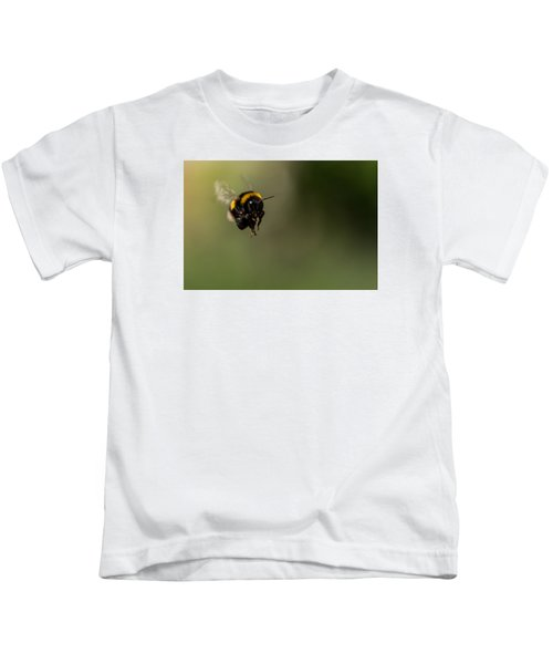 Bee Flying - View From Front Kids T-Shirt