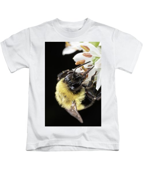 Bee Macro 1 Kids T-Shirt