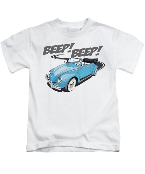Beep Beep Goes The Bug Kids T-Shirt