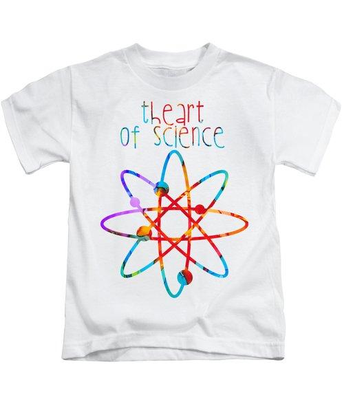 Beginnings Abstract Kids T-Shirt