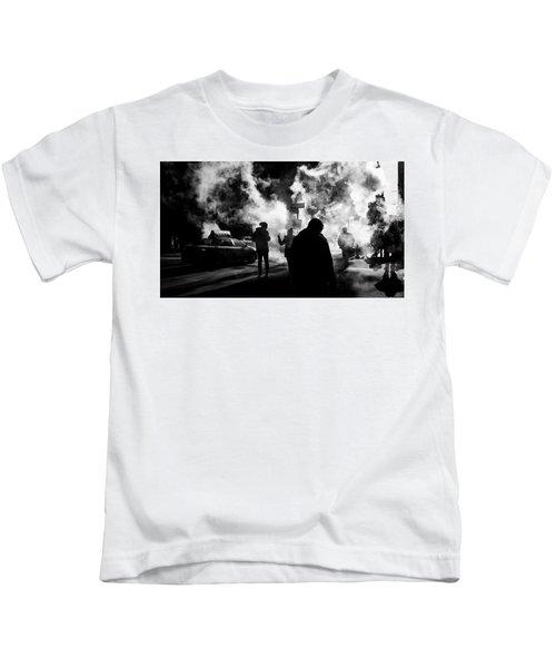 Behind The Smoke Kids T-Shirt