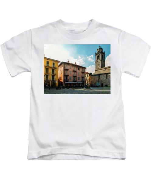Bellagio, Lake Como, Italy. Kids T-Shirt