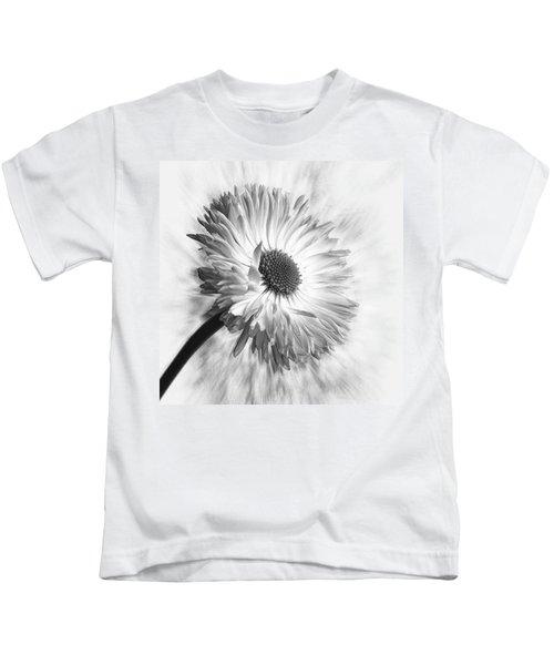 Bellis In Mono  #flower #flowers Kids T-Shirt