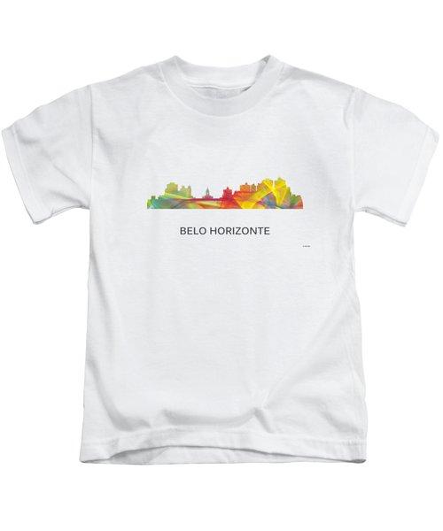 Belo Horizonte Brazil Skyline Kids T-Shirt