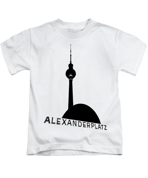 Berlin Alexanderplatz Kids T-Shirt by Julie Woodhouse