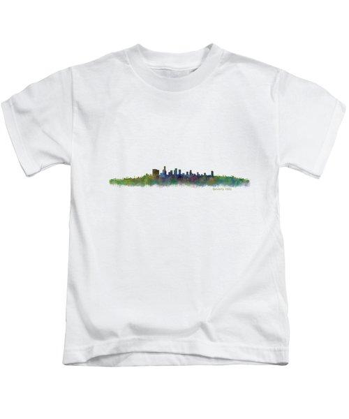 Beverly Hills City In La City Skyline Hq V2 Kids T-Shirt