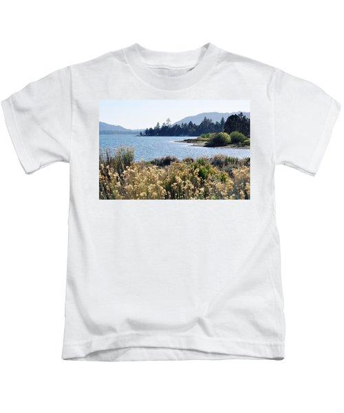 Big Bear Lake Shoreline Kids T-Shirt