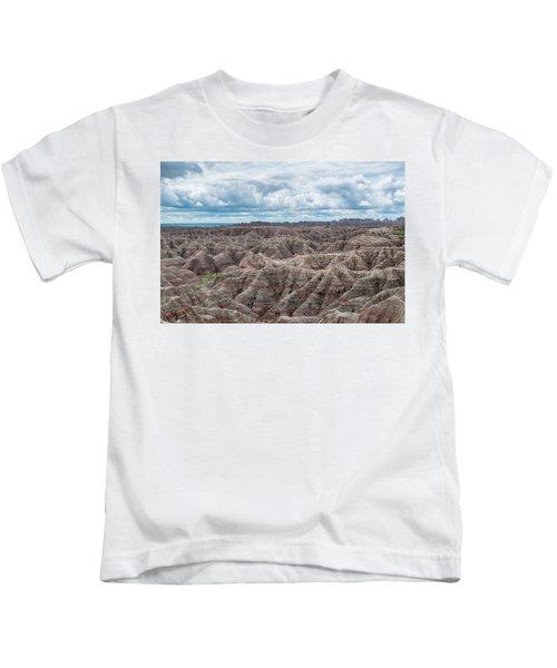 Big Overlook Badlands National Park  Kids T-Shirt