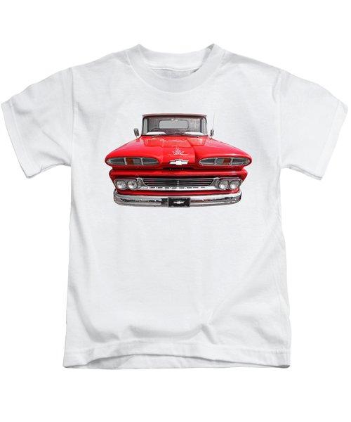 Big Red - 1960 Chevy Kids T-Shirt