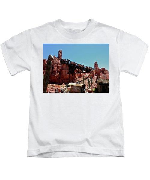 Big Thunder Mountain Walt Disney World Mp Kids T-Shirt