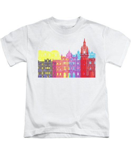 Bilbao Skyline Pop Kids T-Shirt