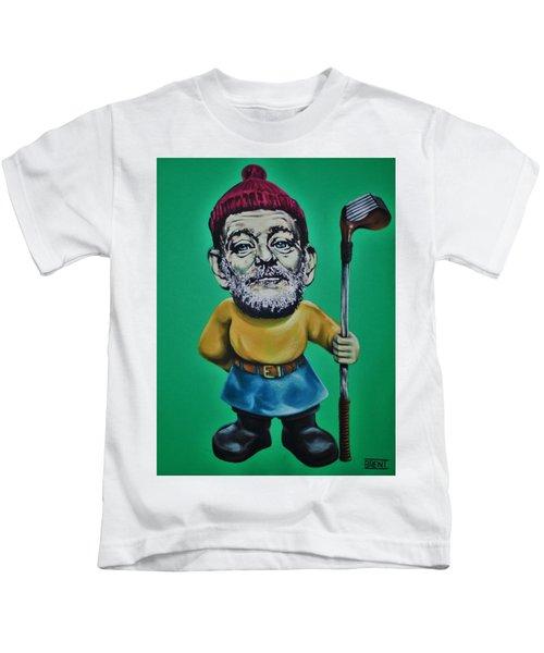 Bill Murray Golf Gnome Kids T-Shirt
