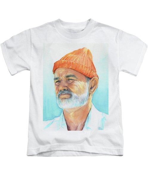 Bill Murray Steve Zissou Life Aquatic Kids T-Shirt
