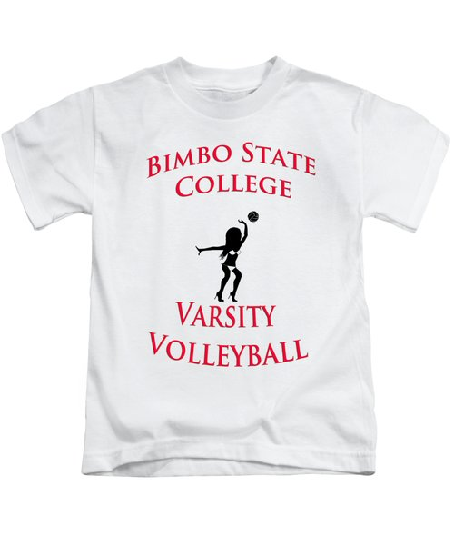 Bimbo State College - Varsity Volleyball Kids T-Shirt