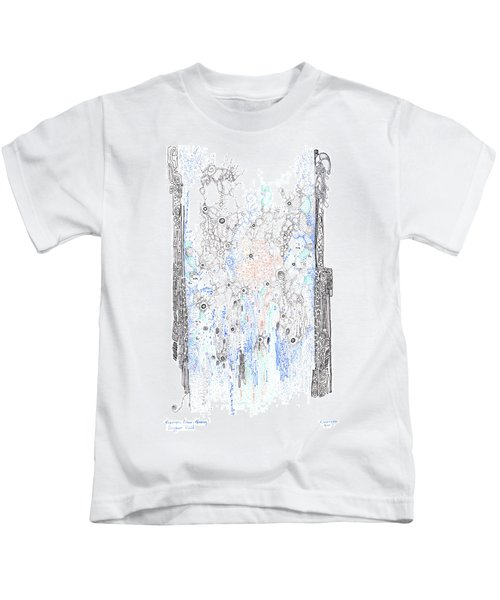 Bingham Fluid Or Paste Kids T-Shirt