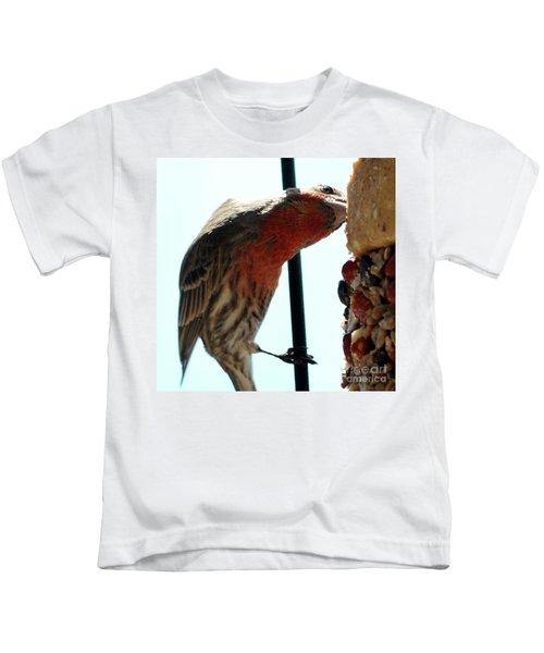 Bird Hits The Jackpot Kids T-Shirt